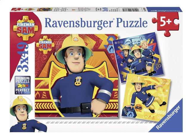 Afbeelding van Ravensburger Puzzel 3-in-1 Brandweerman Sam from DreamLand