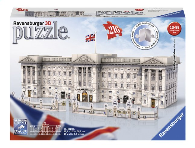 Afbeelding van Ravensburger 3D-puzzel Buckingham Palace from DreamLand
