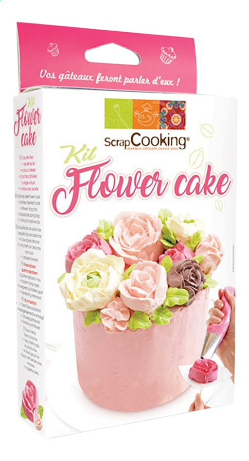 Afbeelding van ScrapCooking kit Flower Cake from DreamLand