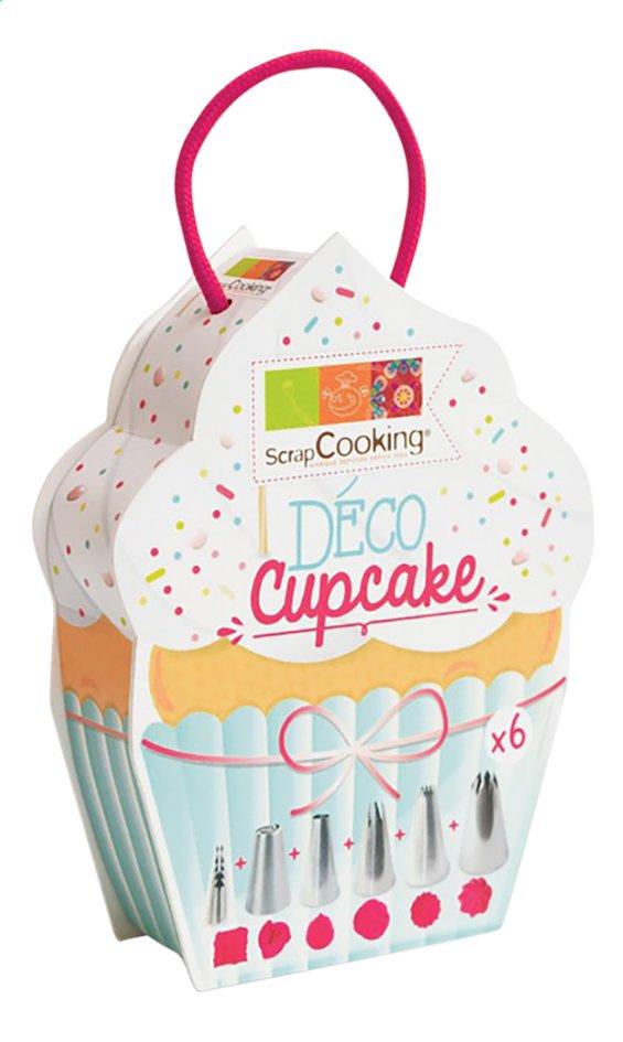 Afbeelding van ScrapCooking Deco Cupcake 6 spuitmonden from DreamLand