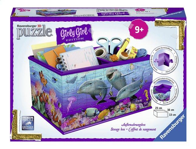 Afbeelding van Ravensburger 3D-puzzel Girly Girl opbergdoos onderwaterwereld from DreamLand
