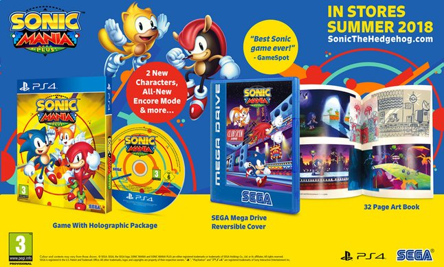 PS4 Sonic Mania Plus ENG/FR