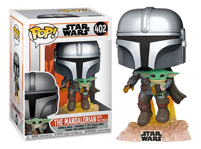 Funko Pop! figurine Star Wars The Mandalorian with the Child