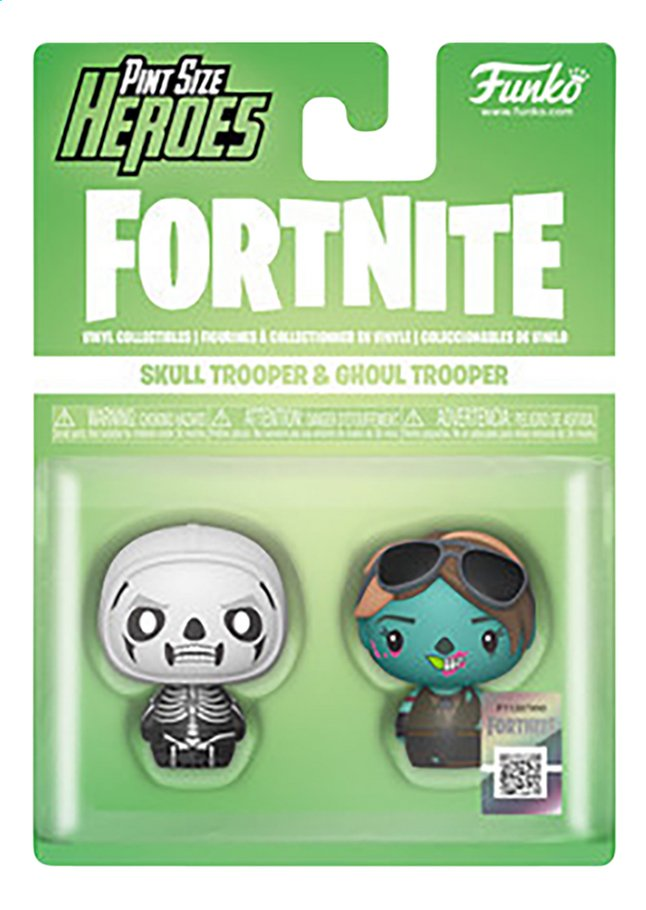 Funko Pint Size Heroes - Fortnite Skull Trooper & Ghoul Trooper
