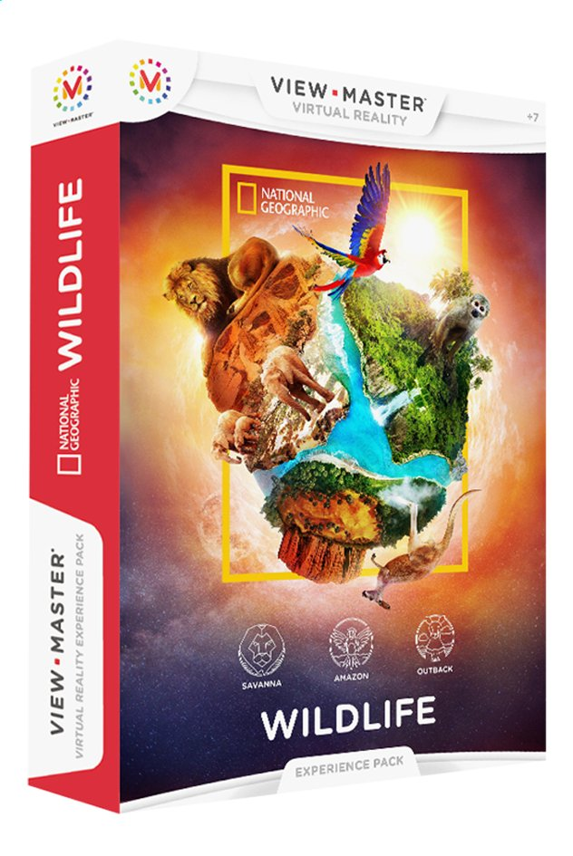 Afbeelding van View-Master Virtual Reality Experience Pack Dierenwereld from DreamLand
