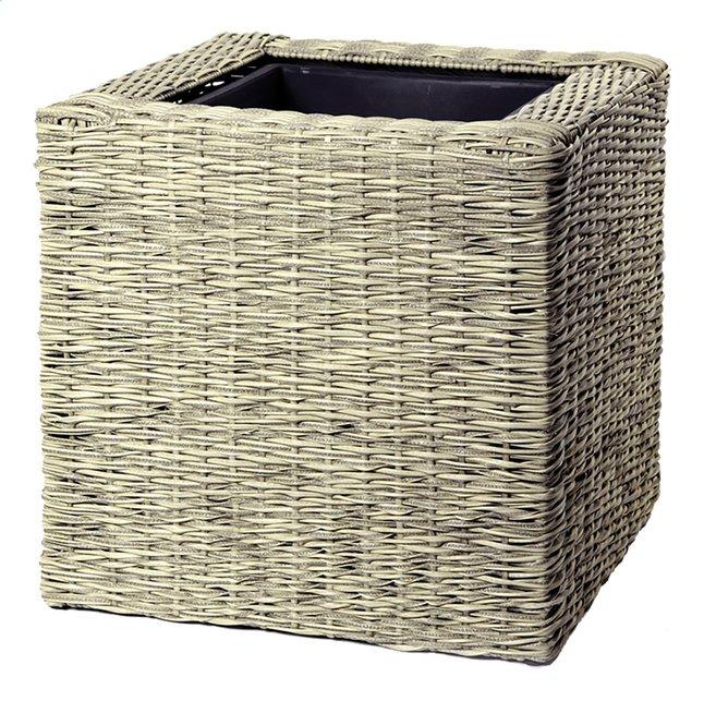 Afbeelding van MCollections bloembak Umero Cubi beige 50 cm from DreamLand