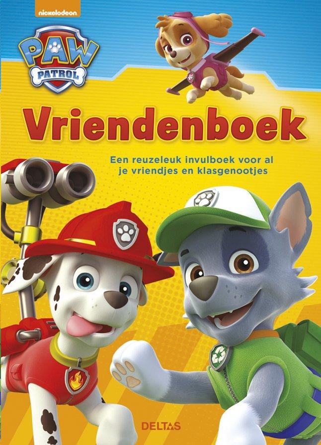 Vriendenboek PAW Patrol