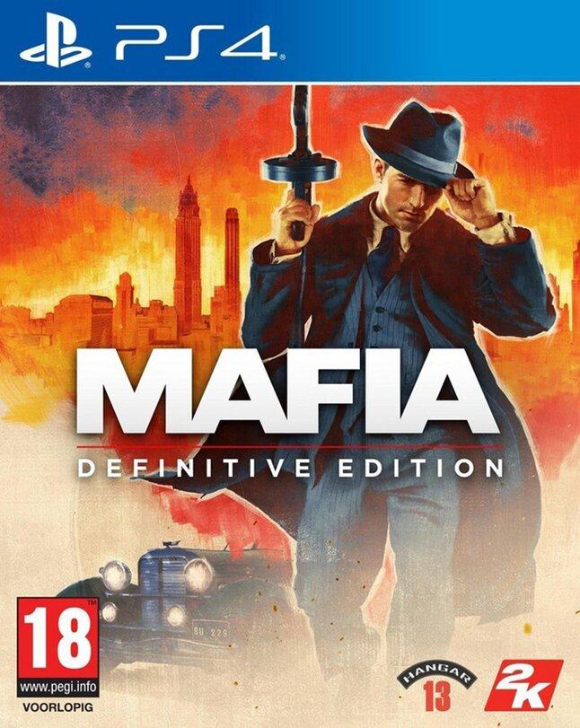 PS4 Mafia Definitive Edition FR/ANG