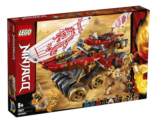 Afbeelding van LEGO Ninjago 70677 Landbounty from DreamLand