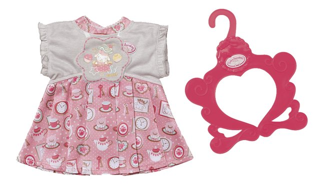 Afbeelding van Baby Annabell kledijset Day Dresses roze-wit from DreamLand