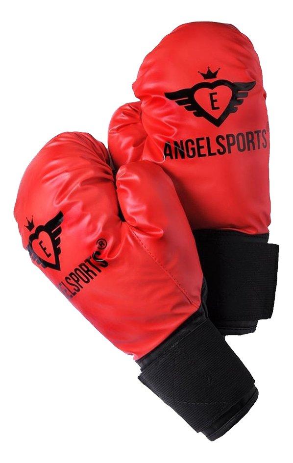 Angel Sports bokshandschoenen rood