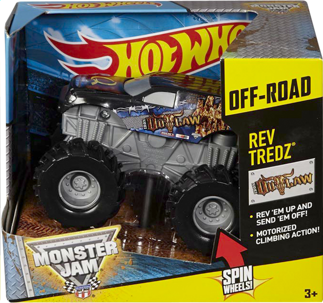 Image pour Hot Wheels Monster Jam Iron Outlaw à partir de DreamLand