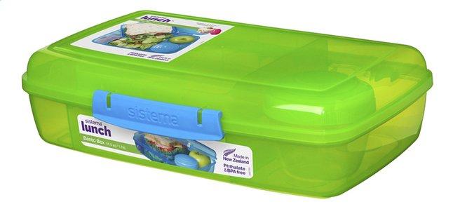 Afbeelding van Sistema lunchbox Bento Box Duo lime from DreamLand