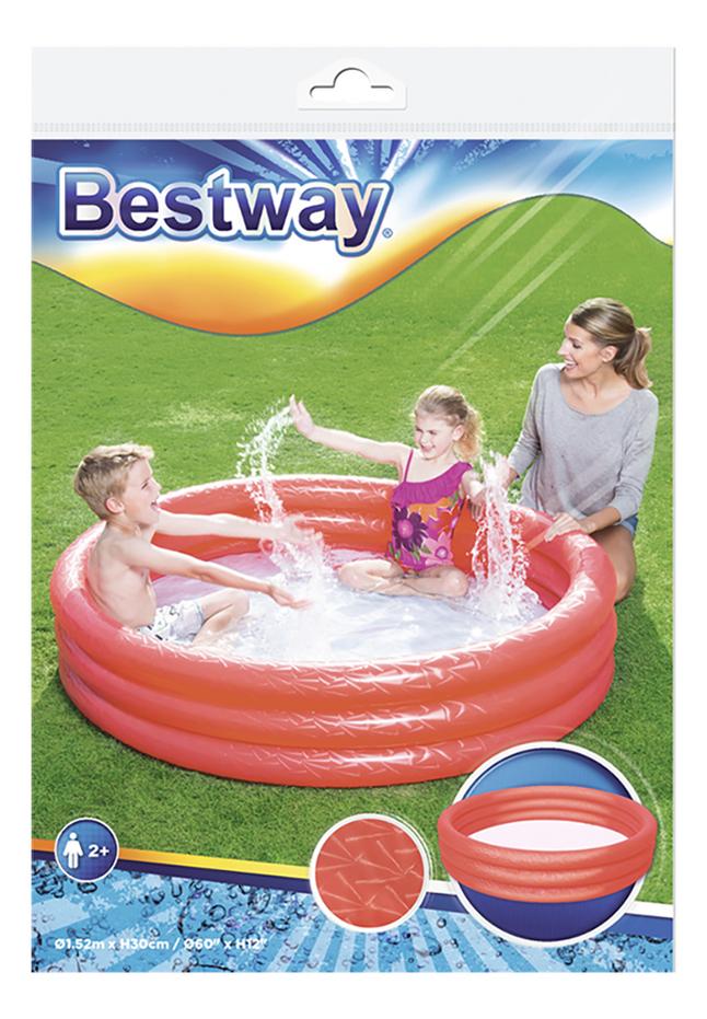 Afbeelding van Bestway zwembad voor kinderen Play pool Ø 152 cm rood from DreamLand