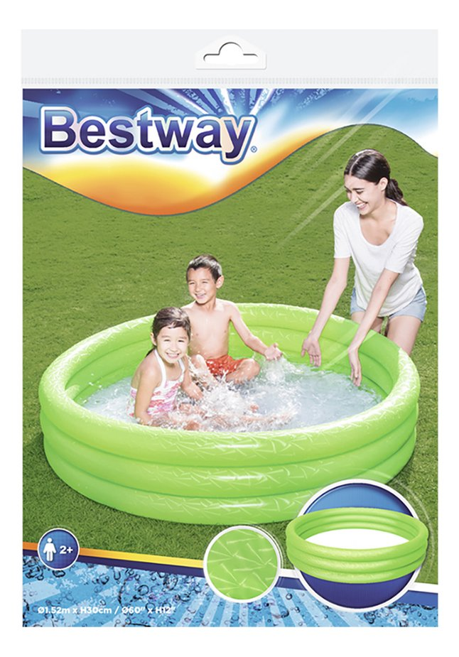 Afbeelding van Bestway zwembad voor kinderen Play pool Ø 152 cm groen from DreamLand