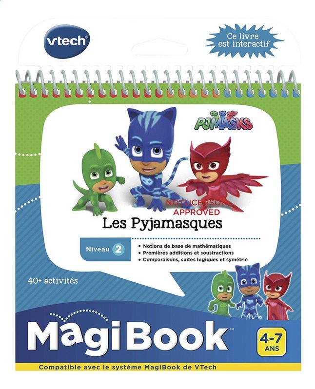 Vtech Magibook Livre Educatif Niveau 2 Les Pyjamasques