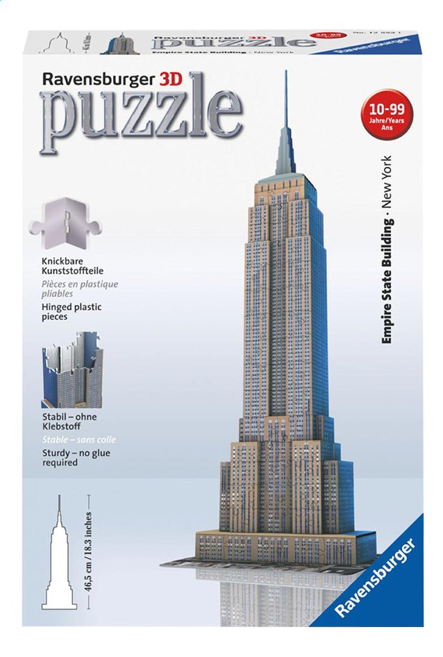 Afbeelding van Ravensburger 3D-puzzel Empire State Building from DreamLand