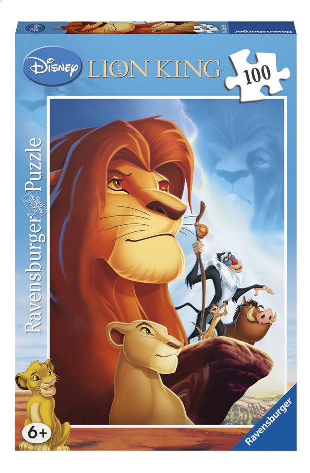 Afbeelding van Ravensburger puzzel The Lion King from DreamLand