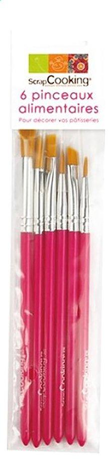 Afbeelding van ScrapCooking 6 penselen from DreamLand