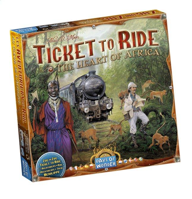 Afbeelding van Ticket to Ride uitbreiding: The Heart of Africa from DreamLand