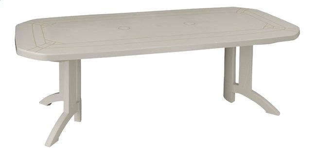 Image pour Grosfillex table de jardin à rallonge Vega blanc L 160 x Lg 100 cm à partir de DreamLand