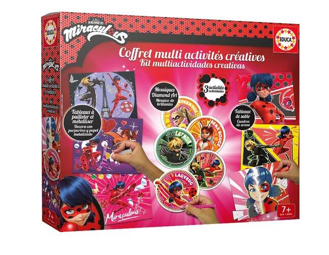 Educa Borras Miraculous Coffret Multi activités créatives