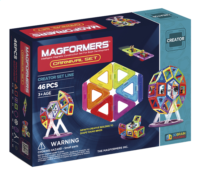 Afbeelding van Magformers Creator Carnival Set from DreamLand