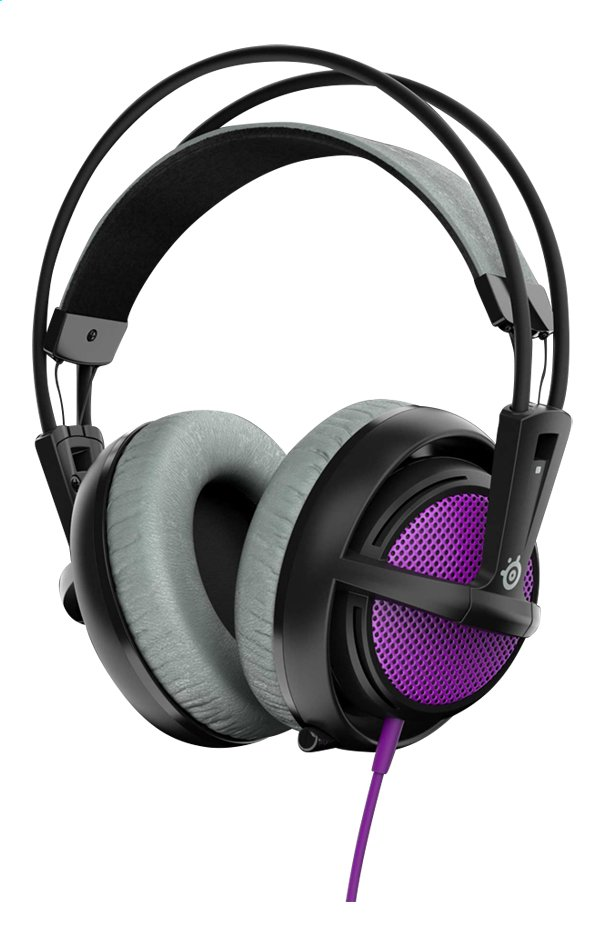 Afbeelding van SteelSeries headset Siberia 200 Sakura Purple from DreamLand