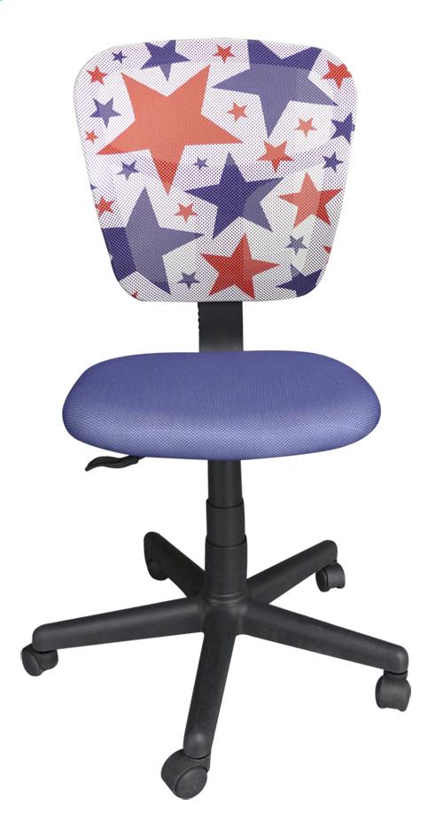 Image pour Chaise de bureau pour enfants Stars bleu à partir de DreamLand