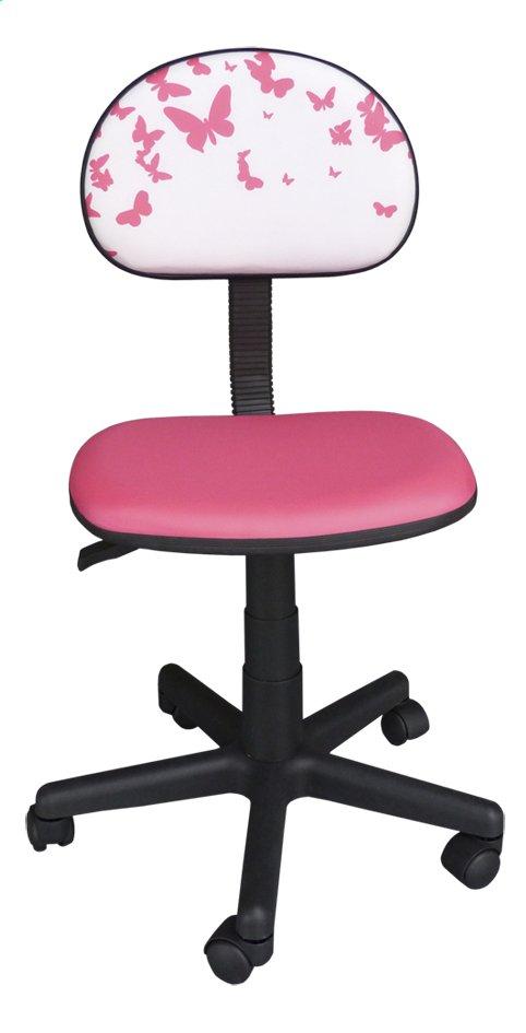 Image pour Chaise de bureau pour enfants Papillons rose à partir de DreamLand