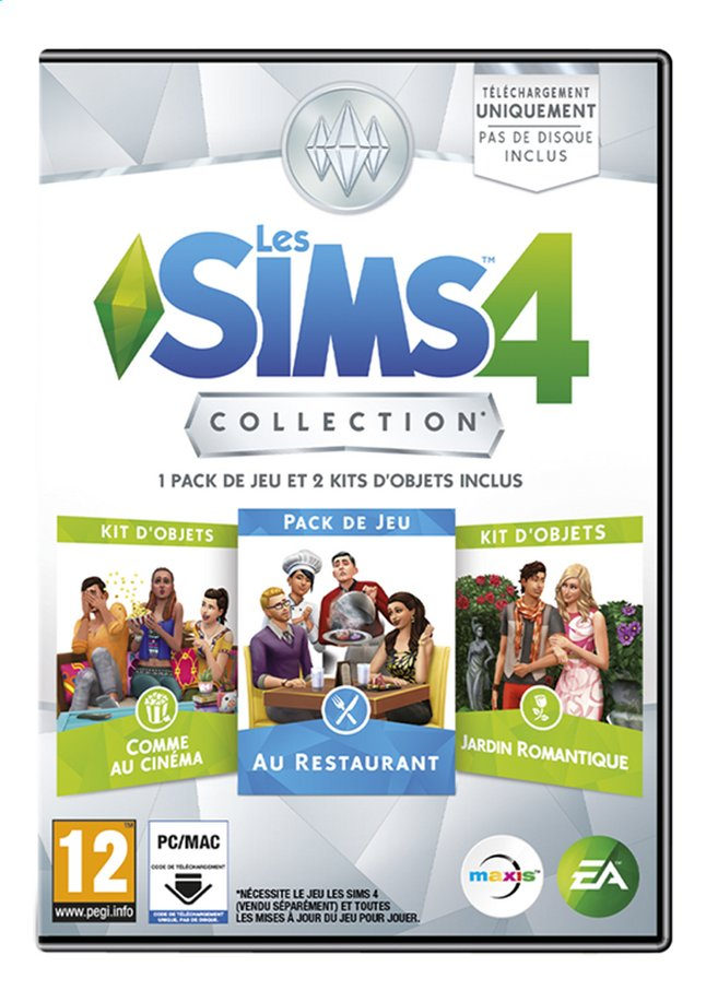 Afbeelding van PC Les Sims 4 Collection FR from DreamLand