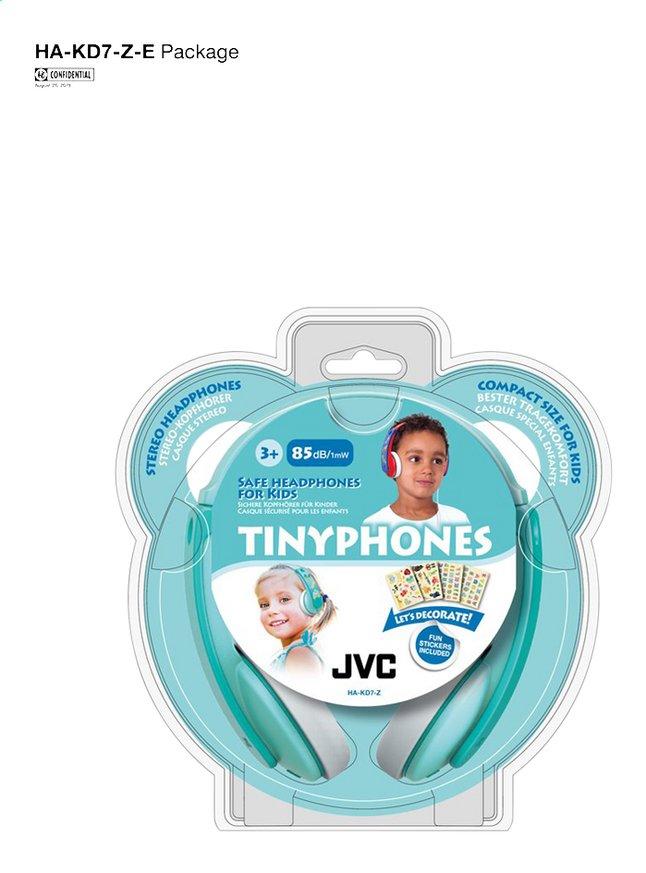 Afbeelding van JVC Hoofdtelefoon Tinyphones HA-KD7-Z blauw groen from DreamLand