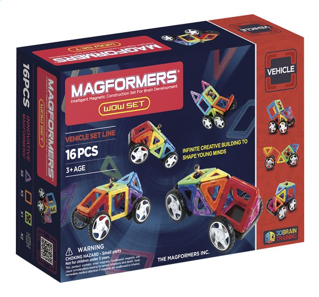 Afbeelding van Magformers Vehicle Wow Set from DreamLand