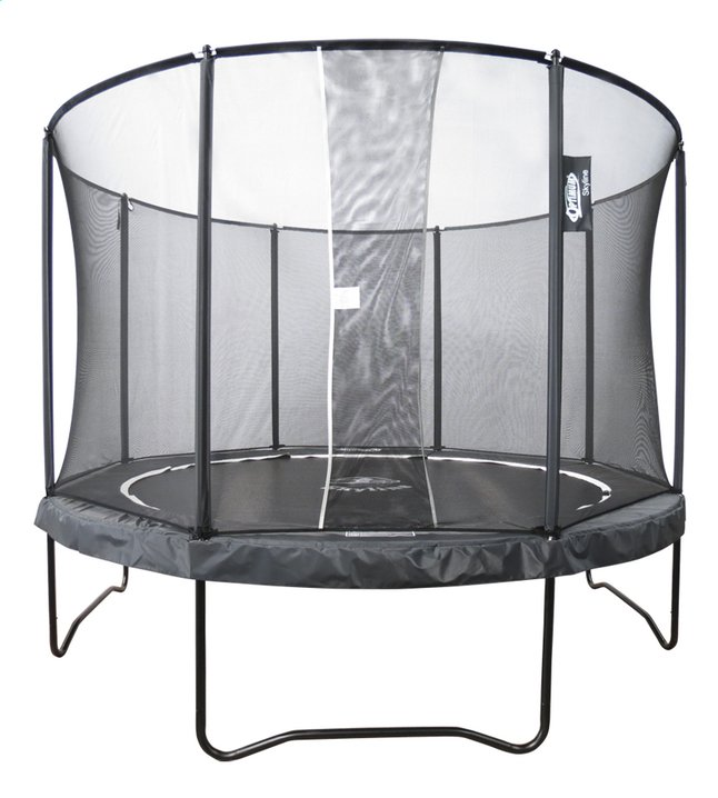 Optimum Skyline ensemble trampoline Premium Ø 4,23 m noir