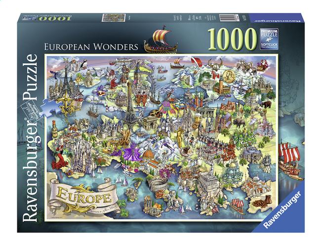 Afbeelding van Ravensburger Puzzel Europese Wonderen from DreamLand