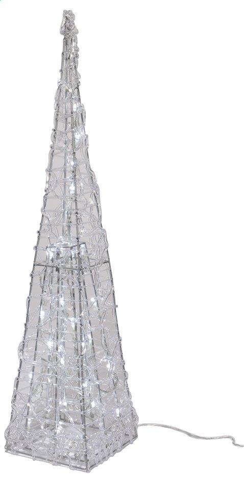 Afbeelding van Ledverlichting piramide koel wit H 90 cm from DreamLand