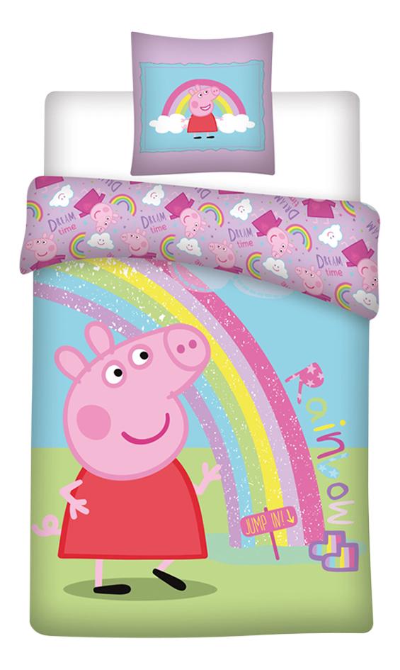Afbeelding van Dekbedovertrek Peppa Pig polyester 140 x 200 cm from DreamLand