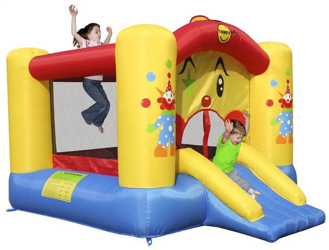 Afbeelding van Happy Hop springkasteel Clown met glijbaan from DreamLand