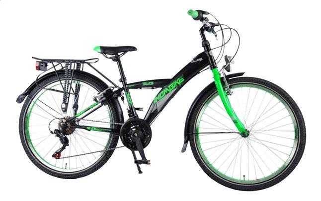Afbeelding van Volare citybike Thombike City Shimano 21-Speed zwart/groen 24