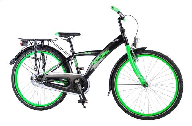 Afbeelding van Volare citybike Thombike City zwart/groen 24