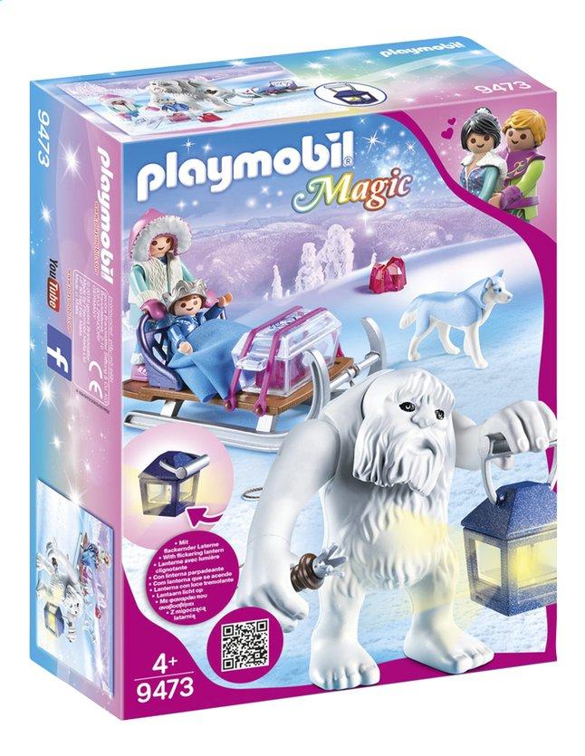 Image pour PLAYMOBIL Magic 9473 Yéti avec traîneau à partir de DreamLand