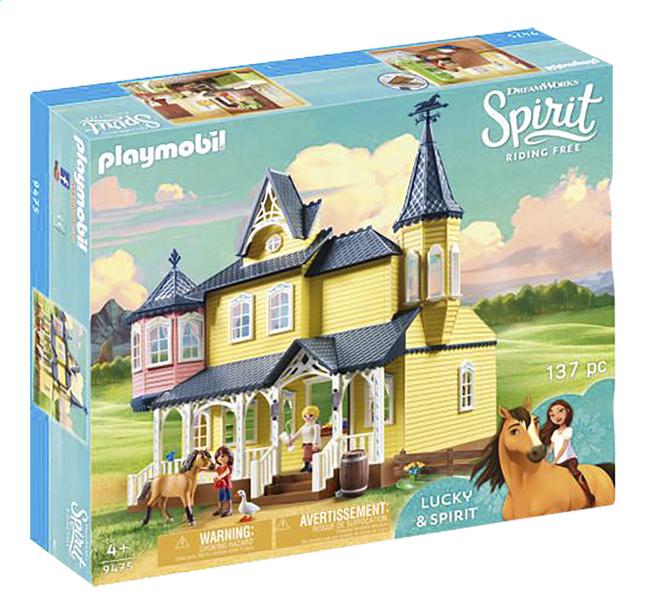 Image pour PLAYMOBIL Spirit 9475 Maison de Lucky à partir de DreamLand
