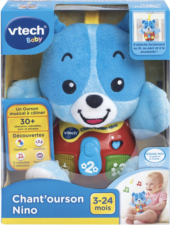 Afbeelding van VTech Chant'ourson Nino FR from DreamLand