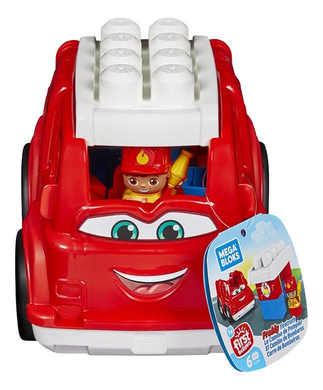 Mega Bloks First Builders Lil' Vehicles Freddy Brandweer