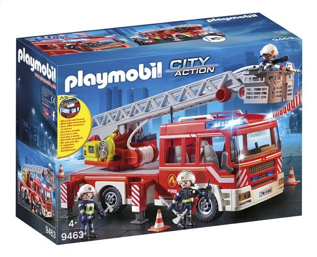 De 9463 Échelle Camion Pivotante City Pompiers Playmobil Action Avec bfg76y