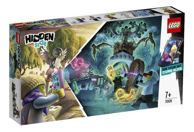 Image pour LEGO Hidden Side 70420 Le cimetière mystérieux à partir de DreamLand
