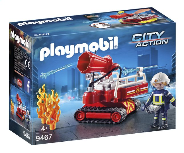 Image pour PLAYMOBIL City Action 9467 Pompier avec robot d'intervention à partir de DreamLand