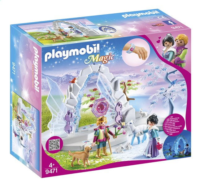 Afbeelding van PLAYMOBIL Magic 9471 Kristallen poort naar Winterland from DreamLand