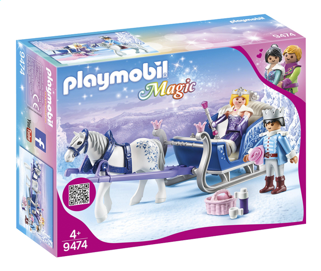 Image pour PLAYMOBIL Magic 9474 Couple royal et calèche à partir de DreamLand