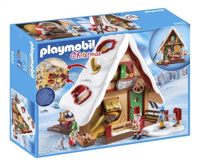 playmobil christmas 9493 atelier de biscuit du p re no l. Black Bedroom Furniture Sets. Home Design Ideas